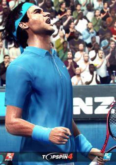 Roger Federer in Top Spin 4