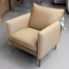 Chair of the Day Malli / Model: Chic Kangas / Fabric: Diamonds 282 #pohjanmaan #pohjanmaankaluste #picoftheday #instapic #furnituremaker #armchair #sofa