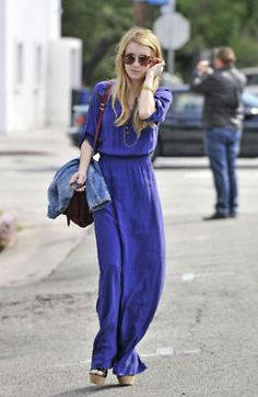 emma roberts in a maxi dressss