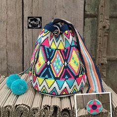 Wayuu Mochila pattern #wayuuchic #tribal #unique