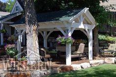 Pavilions & Gazebos Gallery, Pavilions Pics, Gazebo Images   Western Timber Frame - kitterman18_12x14