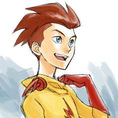 Kid Flash Unmasked by ~Sii-SEN on deviantART