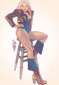 ottoghetto, BlackDamnCanary. Character Sketches, Comic Character, Character Illustration, Character Design, Animation Character, Dc Comics Characters, Dc Comics Art, Arrow Black Canary, Otto Schmidt