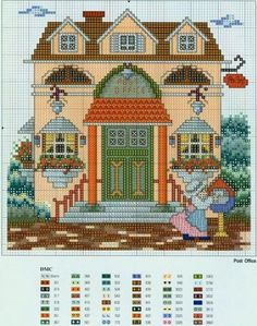 Just Cross Stitch Patterns (1270 pp.) | Learn crafts is facilisimo.com