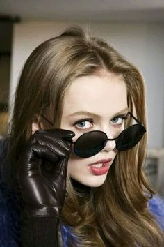 Frida Gustavsson Leather Gifts For Her, Fashion Models, Girl Fashion, Frida Gustavsson, Foto Real, Girls With Glasses, Portraits, White Girls, Beautiful Celebrities