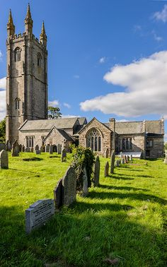 Churchyard at Woolcacombe - Dartmoor National Park - Devonshire- England