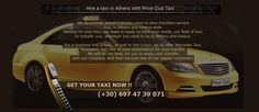 Prive Club Taxi in Athens
