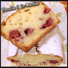 Plumcake agli albumi, limone e fragole RICETTA DI: ROSSELLA S. DE MARTINO Ingredienti: -220 gr farina -120 gr zucchero -120 gr olio di semi -100 ml acqua
