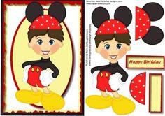 Happy Birthday from Mickey on Craftsuprint - Add To Basket!