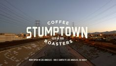 Stumptown Coffee Roasters - the best coffee roaster in the U.S. - we love all of their coffee, but our go-to is their Hair Bender Blend