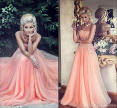 7bf1777ac0040 2015 Pink Sweetheart Neckline Long Prom Dresses Pretty Tulle with Applique  Beaded Sleeveless Floor Length A