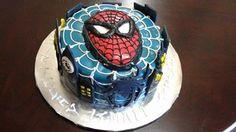 Spiderman Cake by Nicola M.