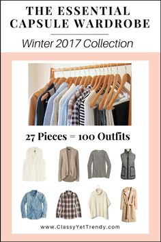 The Essential Capsule Wardrobe: Winter 2017 Collection