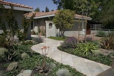 drought tolerant front yard landscaping ideas | Low-Maintenance, Drought Tolerant Landscape | Gardens