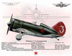 Polikarpov I-16 by A. Hermann