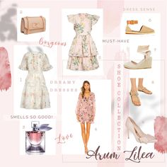 Arum Lilea Dress Sense For a Summer Wardrobe - Arum Lilea Ted Baker Heels, Summer Wardrobe, Passion For Fashion, Lounge Wear, Outfit Of The Day, What To Wear, Winter Fashion, Dress Up, Feminine