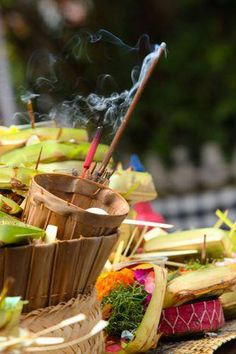 Offering in Bali   Image Yann Le Berre Photography