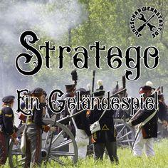 Stratego - ein Geländespiel Baseball Cards, Field Marshal, Game Cards, Board Games, Figurine, Guys, Ideas