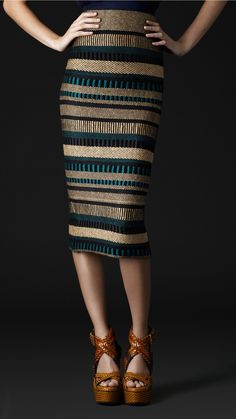 Beautiful Burberry skirt!