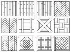 pose en chevron recherche google herringbone tiles. Black Bedroom Furniture Sets. Home Design Ideas