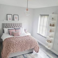 55 pretty pink bedroom ideas for your lovely daughter 11 Girl Bedroom Designs Bedroom Daughter Ideas Lovely pink Pretty Cute Bedroom Ideas, Cute Room Decor, Room Ideas Bedroom, Home Decor Bedroom, Bed Ideas, Square Bedroom Ideas, Ideas For Bedrooms, Adult Room Ideas, Bedroom Themes
