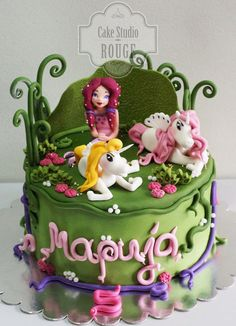 Mia and me Cake by Ceca79