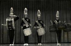 THS Drum Quartet in 1960's