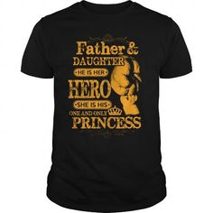 Cool Father Daughter Princess T-Shirts #tee #tshirt #named tshirt #hobbie tshirts #Daughter