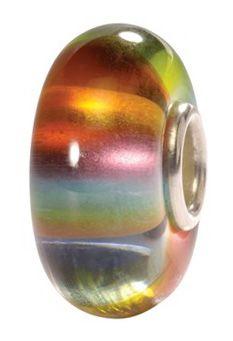 Trollbeads Rainbow Glass Bead, Multicoloured  - johnlewis.com