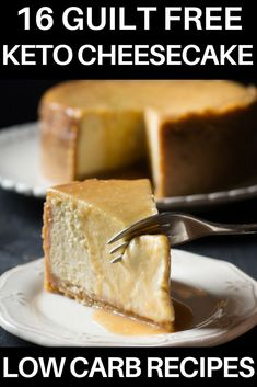 The most amazing collection of keto cheesecake recipes! If you're looking for low carb keto dessert recipes or keto cheesecake recipes to satisfy your sweet tooth look no further! These easy no-bake…More Desserts Keto, Keto Friendly Desserts, Keto Snacks, Dessert Recipes, Cheesecake Desserts, Low Carb Cheesecake Recipe, Easy No Bake Cheesecake, Cheesecake Fat Bombs, Avocado Cheesecake