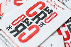 50 Inspiring Letterpress Business Cards That Will Leave A Great Impression - DesignTAXI.com