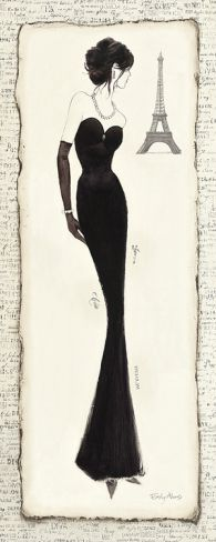 Elegance Diva II Print by Emily Adams at Art.com