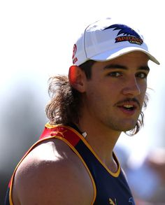 Taylor Walker Photos - Taylor Walker looks on during an Adelaide Crows AFL pre-season training session at Max Basheer Reserve on November 2012 in Adelaide, Australia. Mullets, Athletic Men, Look Younger, Cute Guys, Rugby, Sexy Men, Athlete, Naked, How To Look Better