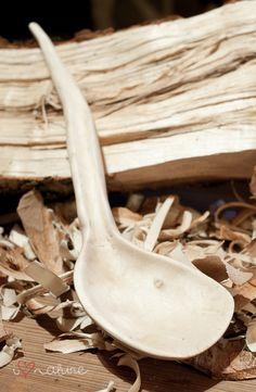 handmade wooden spoon