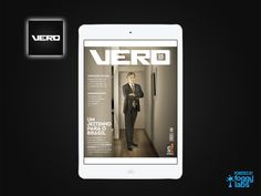 Revista VERO para iPad, iPhone e Android, no Portfolio de Aplicativos da Foggy Labs  #revistanotablet