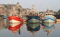 Le Port du Tréport #port #treport #tourisme #normandie #peche