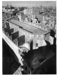 Iglesia de Santa Catalina de Siena.  Estaba en el solar que ahora ocupa El Corte Inglés de Pintor Sorolla