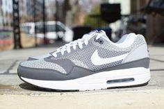 Nike Air Max 1 JCRD   Pure Platinum / White   Silver   Black