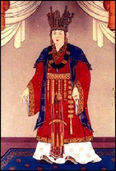 Queen Sondok of Shilla (r. 632-647 CE). Twenty-seventh ruler, first Queen.
