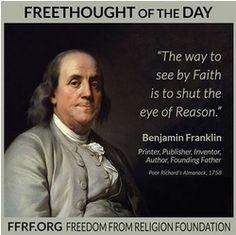 Benjamin Franklin Quote on Religion