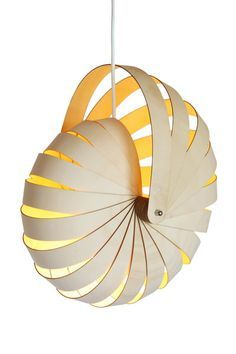 "The Nautilus Light is inspired by two symbols that are part of daily life in New Zealand: the Koru and the Nautilus Shell. In Maoridom, the Koru symbols depict a person's whakapapa (genealogy), their history, their language, their story. Maori koru were inspired by the new shoot of a plant which was often referred to as the ""pitau"" and in particular the new frond of a fern which unfolds in a circular way. When viewing the section of the Nautilus shell it reveals a lining of lustrous nacre…"