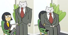 If Your Boss Was A Cat (10+ New Pics) | Bored Panda