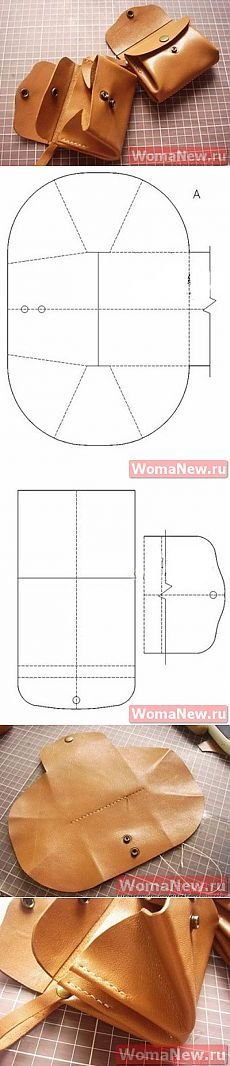Pattern leather handbags | WomaNew.ru - sewing lessons!