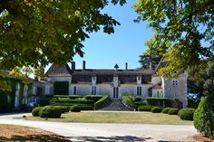 There is an abundance of beautiful houses and villages in this area of France, many tucked away discreetly down unpaved lanes. This is a wonderful example of an historic property.