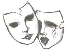 The Worst things About Having Bipolar Disorder | Bipolar Bandit Creepy Drawings, Dark Art Drawings, Pencil Art Drawings, Art Drawings Sketches, Cute Drawings, Drawings With Meaning, Dark Art Illustrations, Tattoo Design Drawings, Sad Tattoo