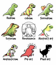 Different types of art...