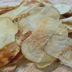 """Microwave Potato Chips   """"Everyone loves them. Also good with flavored popcorn salt. Ranch was a big hit."""""""