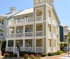 Elegant 6-BR Home - Bay Views from Wrap-Around Porches - Wi-Fi, Ind/Outdoor Pool   Vacation Rental in Sunset Island Ocean City from @homeaway! #vacation #rental #travel #homeaway