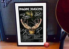 Dan Reynolds Imagine Dragons 2015 Concert Tour Flyer by Autovisual