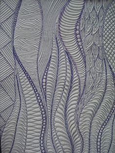 Quilt to the Edge: 2012 Free Motion Quilting Challenge | Best for a whole clothe quilt